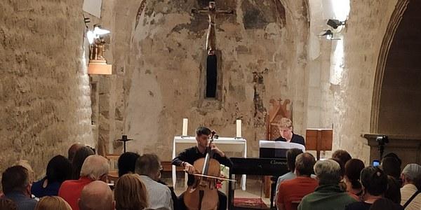 Concert d'AIMS en el seu 20è aniversari (Sant Julià de Ceuró)